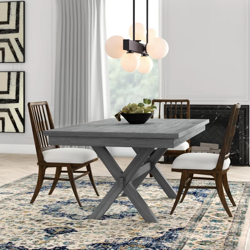 wyncliff extendable solid wood dining table reviews on solid wood dining table id=51819