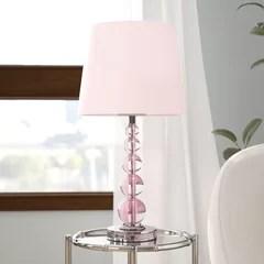 girls bedroom lamps wayfair