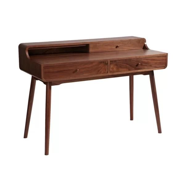 Stupendous Boris Solid Wood Desk By Corrigan Studio Download Free Architecture Designs Grimeyleaguecom