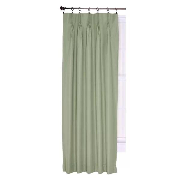 patio door pinch pleat drapes