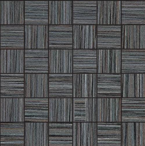 bamboo 2 x 2 porcelain field tile in noir linen