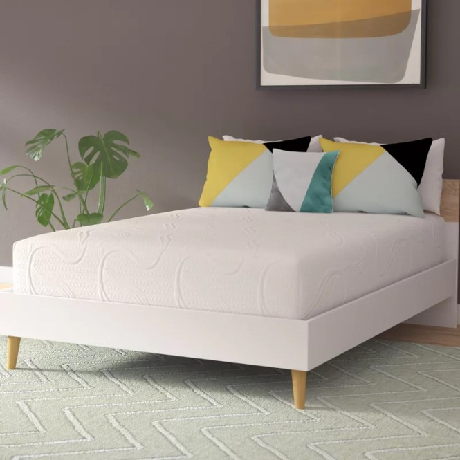 8 Firm Memory Foam Mattress