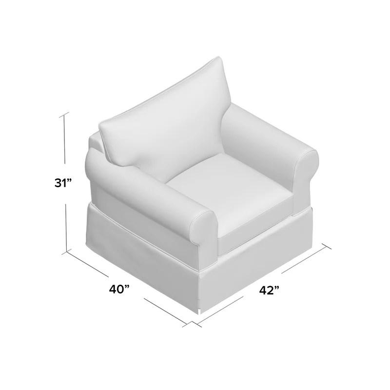 Wayfair Custom Upholstery Felicity Armchair Amp Reviews