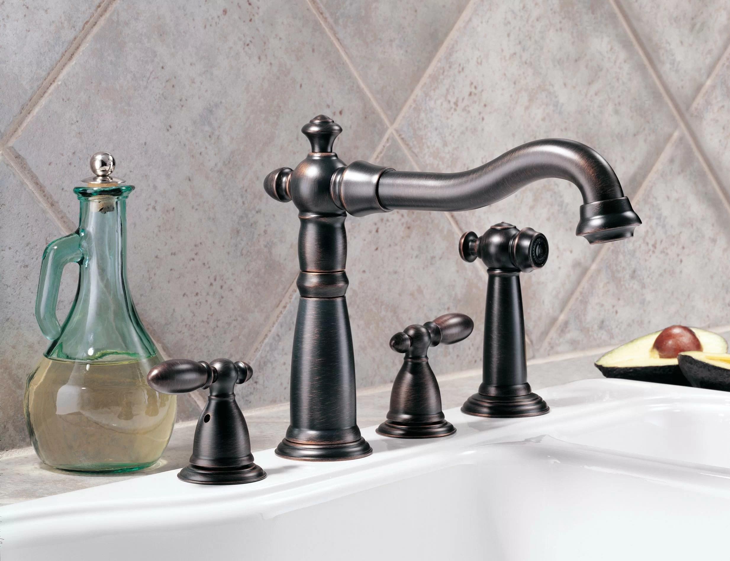 venetian bronze kitchen faucets you ll love in 2021 wayfair