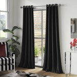 Black Curtains Drapes Free Shipping Over 35 Wayfair
