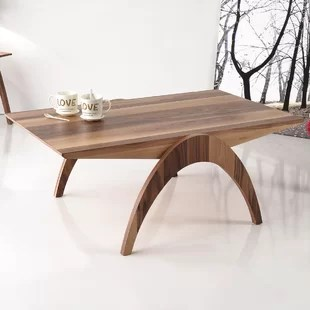 simple coffee table | wayfair