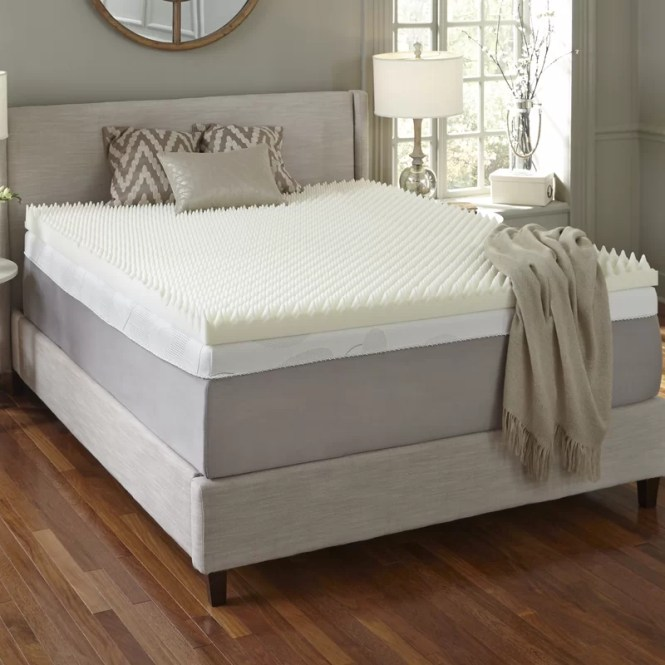 Simmons 4 Memory Foam Mattress Topper