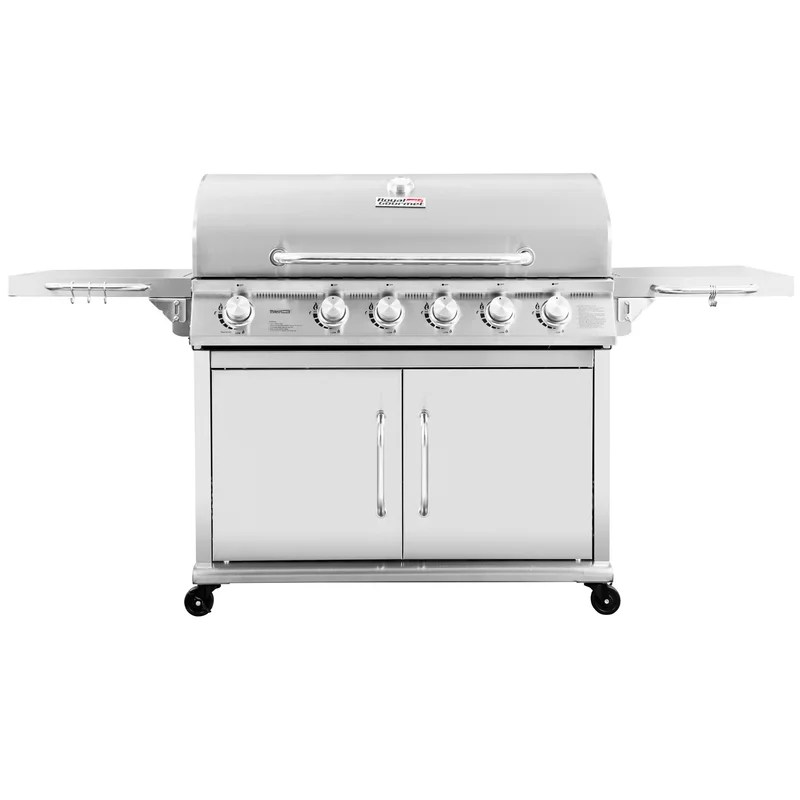 6-Burner Propane Gas Grill with Infrared Burner