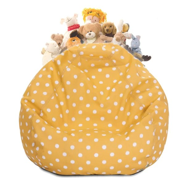 Sensational Stuffed Animal Toy Storage Bean Bag Chair By Harriet Bee Forskolin Free Trial Chair Design Images Forskolin Free Trialorg