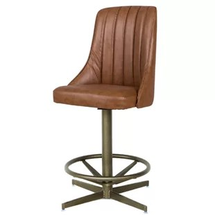 Cuellar 19 Swivel Bar Stool By Red Barrel Studio