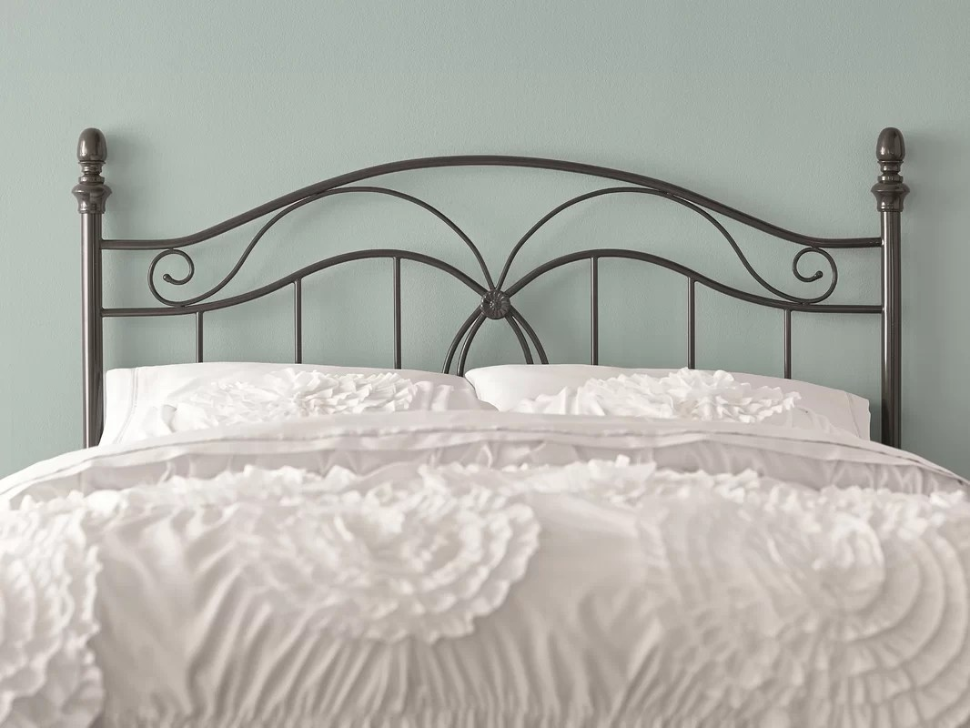 Charlton Home Crocker Bedroom Metal Headboard & Reviews