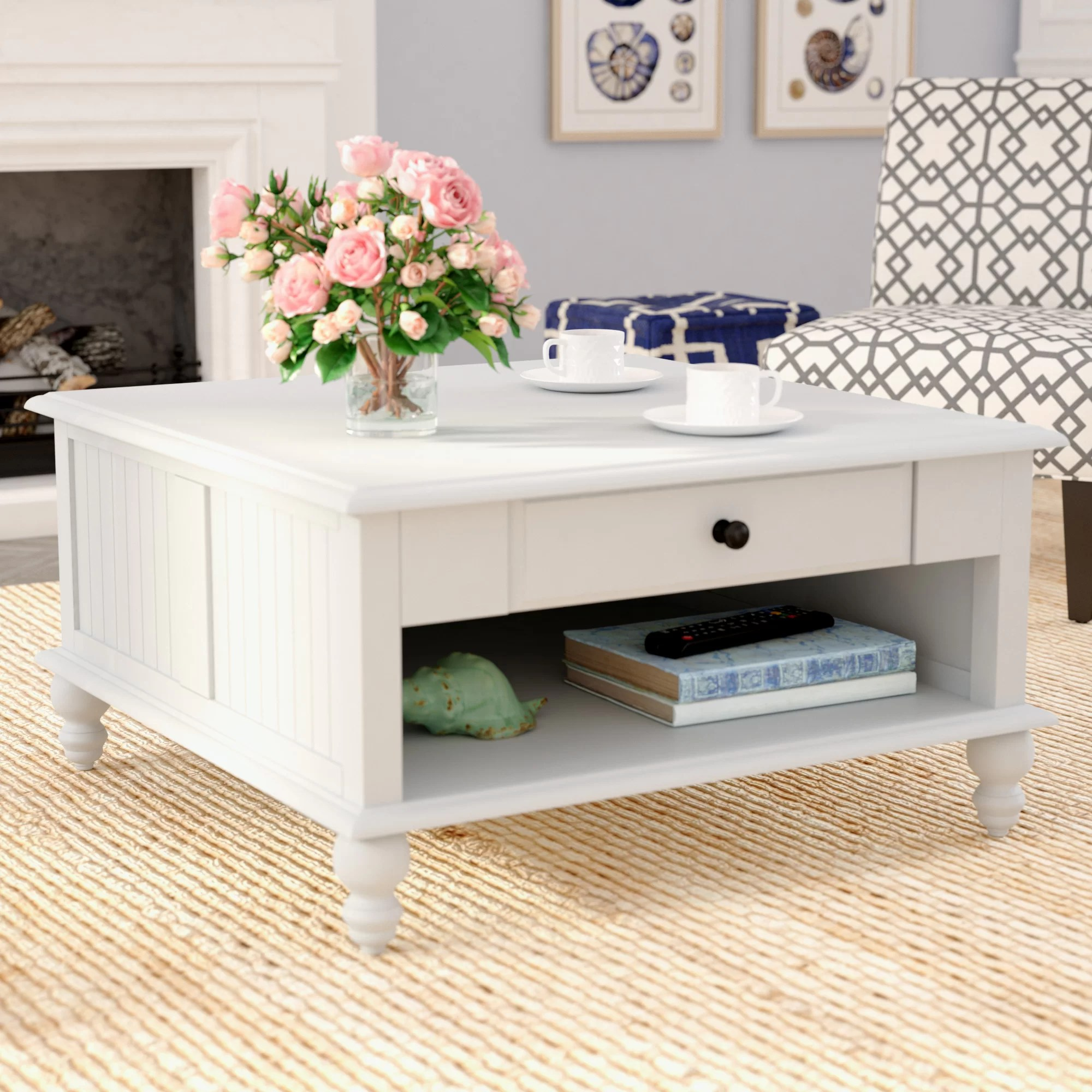coffee tables white coffee table 4