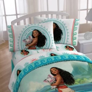 Disney Moana   Wayfair Moana  The Wave  Twin Sheet Set