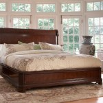 Fine Furniture Design American Cherry Sleigh Bed Wayfair