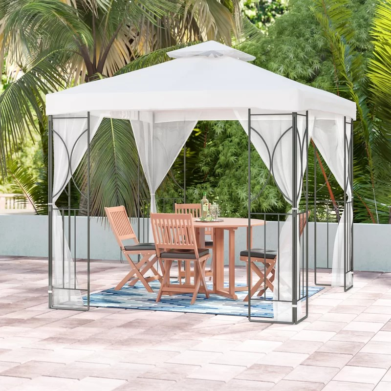 SunTime Outdoor Living Polenza 8 Ft. W x 8 Ft. D Metal ... on Suntime Outdoor Living  id=53048