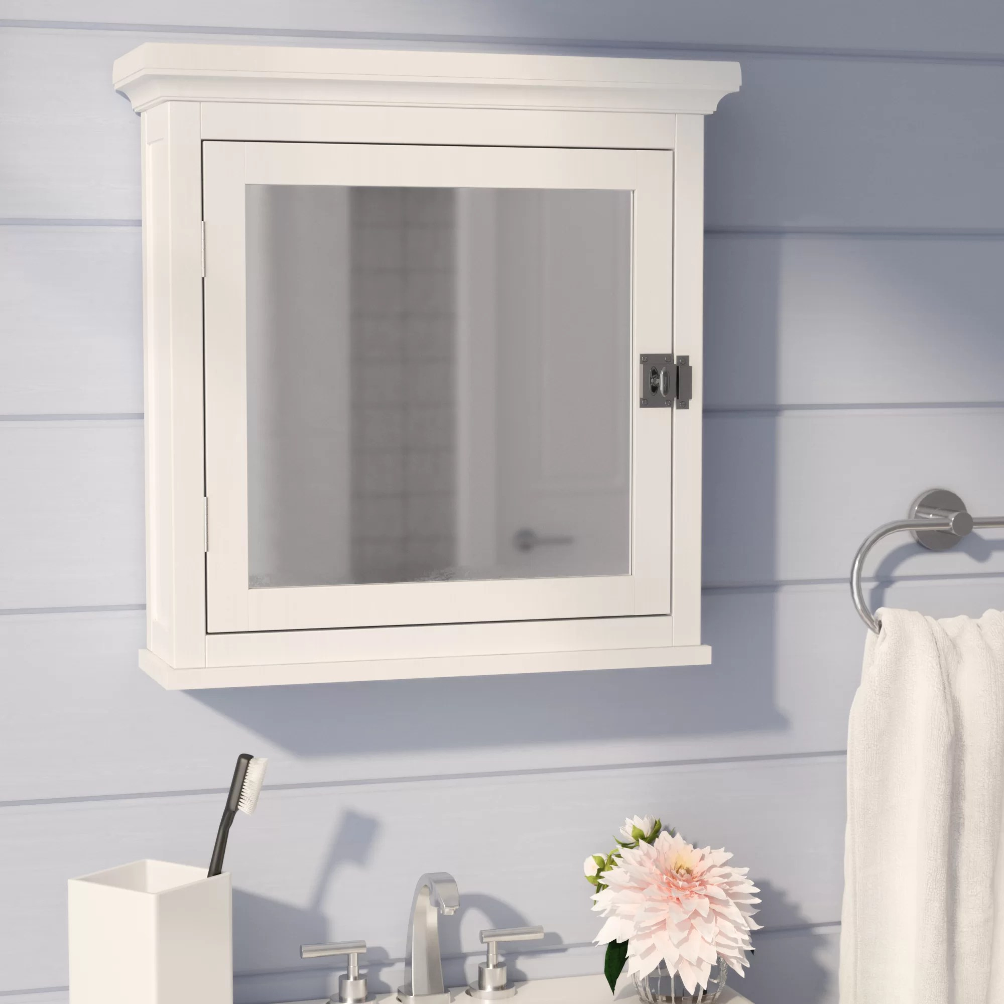 Beachcrest Home Sumter Surface Mount Medicine Cabinet
