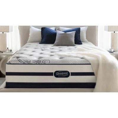 Simmons Beautyrest Recharge 11 5 Plush Aircool Memory Foam Mattress Reviews Wayfair