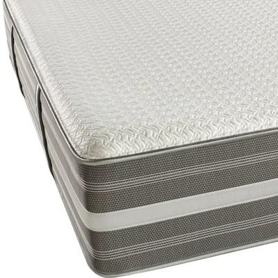 Simmons Beautyrest Recharge 14 Medium Firm Hybrid Aircool Memory Foam Mattress Reviews Wayfair