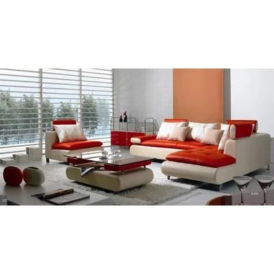 Wade Logan Adrianne 4 Piece Sectional Sofa Set Wayfair  sc 1 st  Brokeasshome.com : logan sectional sofa - Sectionals, Sofas & Couches