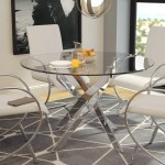 Glass Pedestal Kitchen Dining Tables You Ll Love In 2020 Wayfair