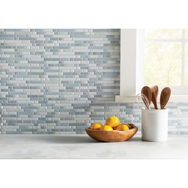 bellagio 10 x 10 gel peel stick mosaic tile