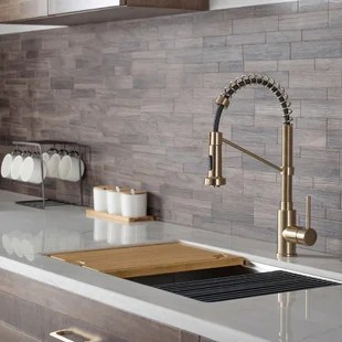 bolden pull down single handle kitchen faucet