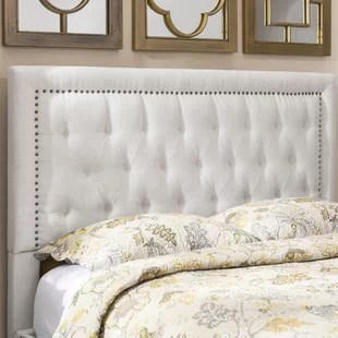 Square Upholstered Headboard   Wayfair Save