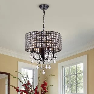 Crystal Chandeliers You ll Love   Wayfair Save