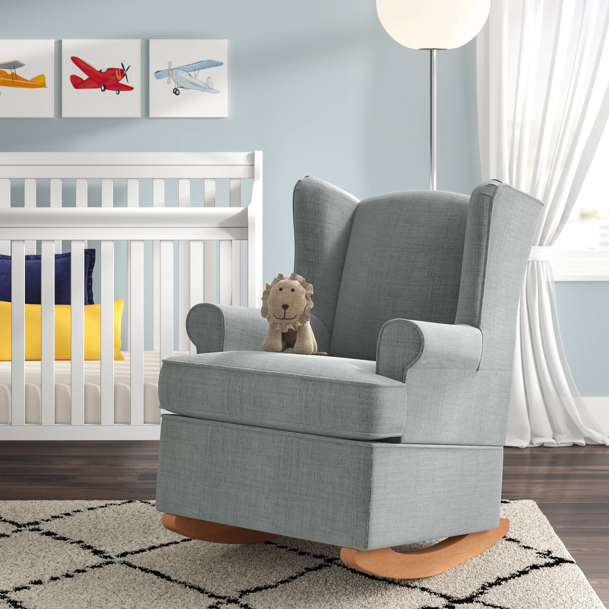 Fabric Rocking Chairs You Ll Love In 2020 Wayfair