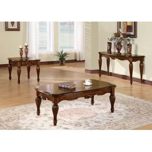 welsh 3 piece coffee table set for sale.