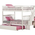 Shyann Staircase Full Over Full Bunk Bed With Trundle Reviews Allmodern