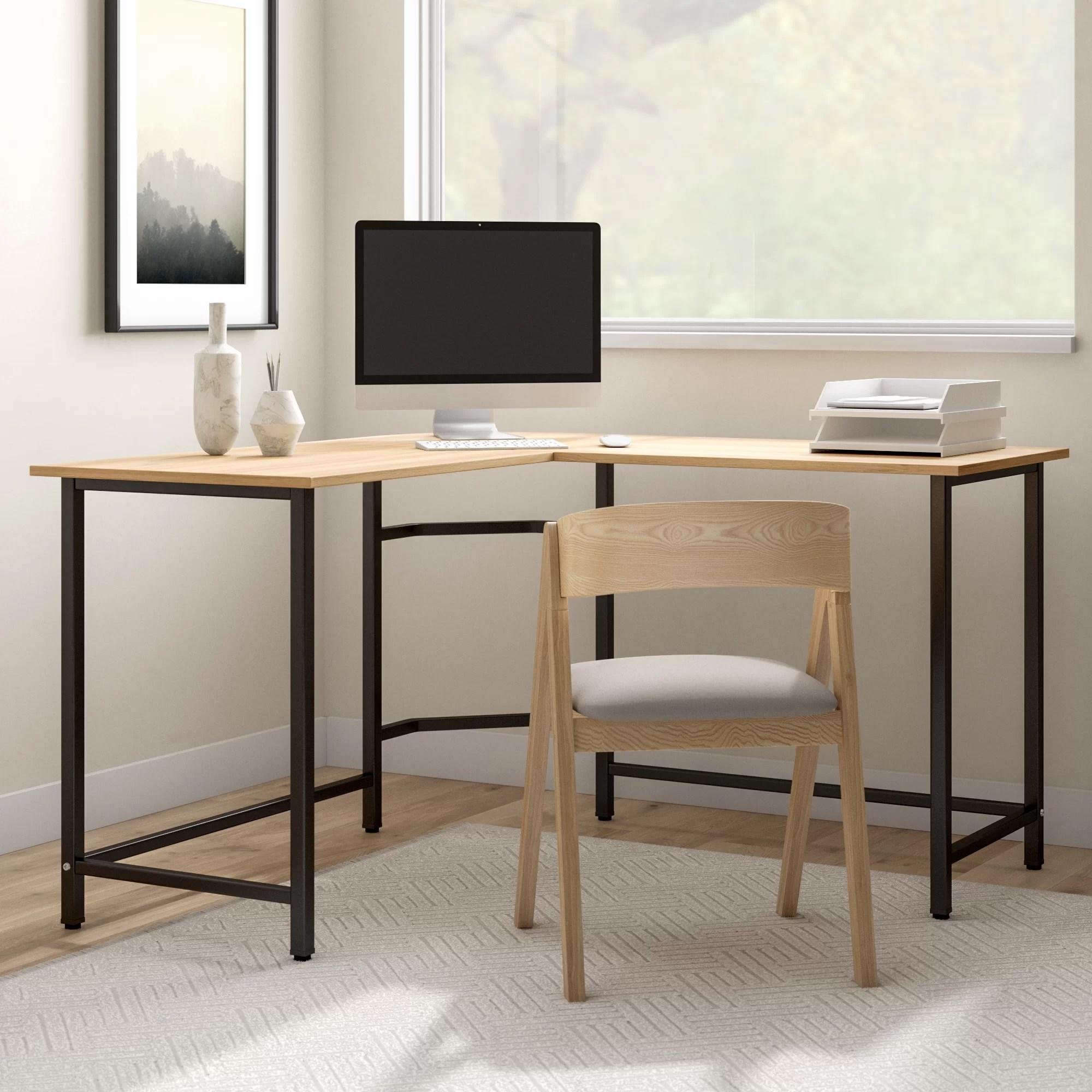 anya l shape desk
