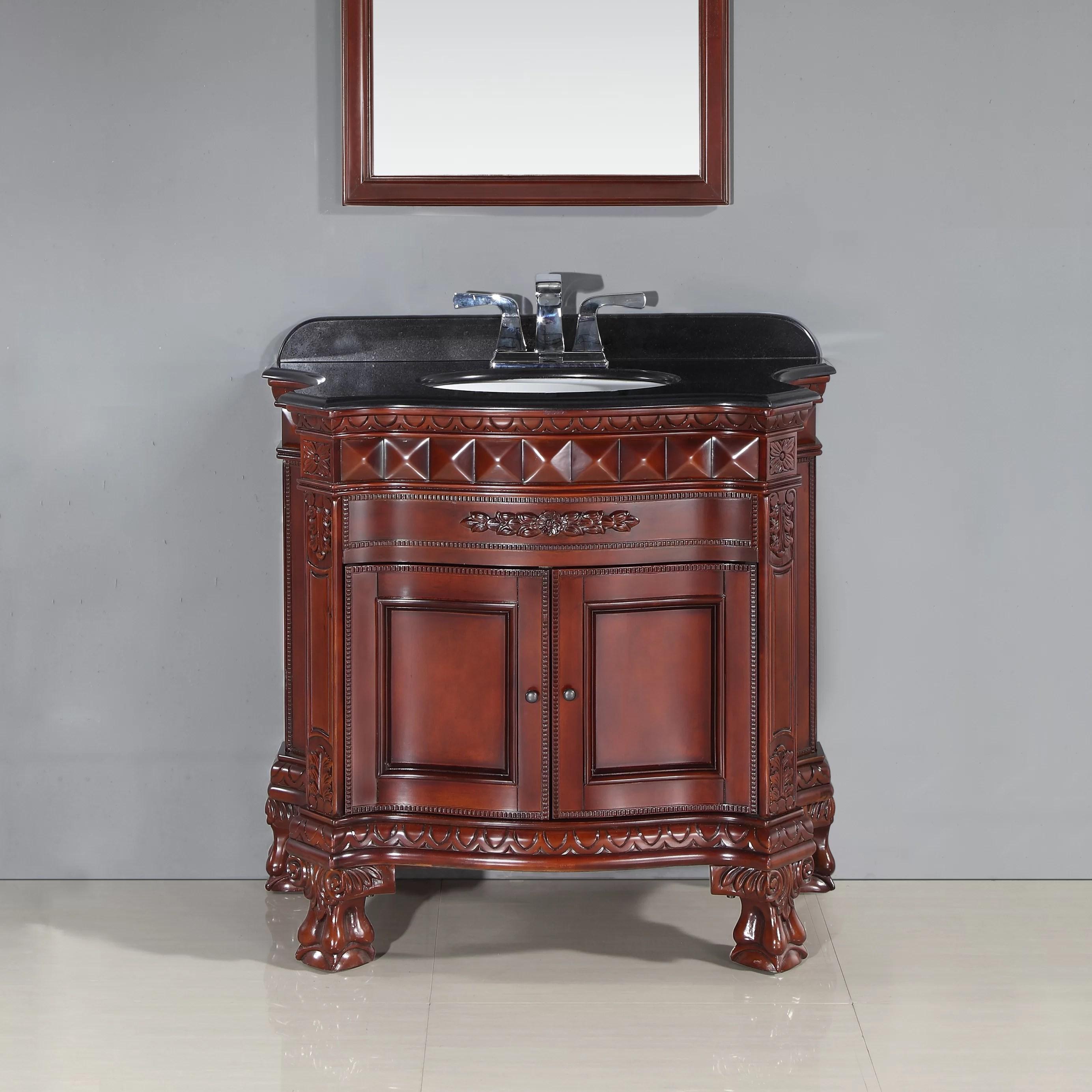 buckingham 36 single bathroom vanity set