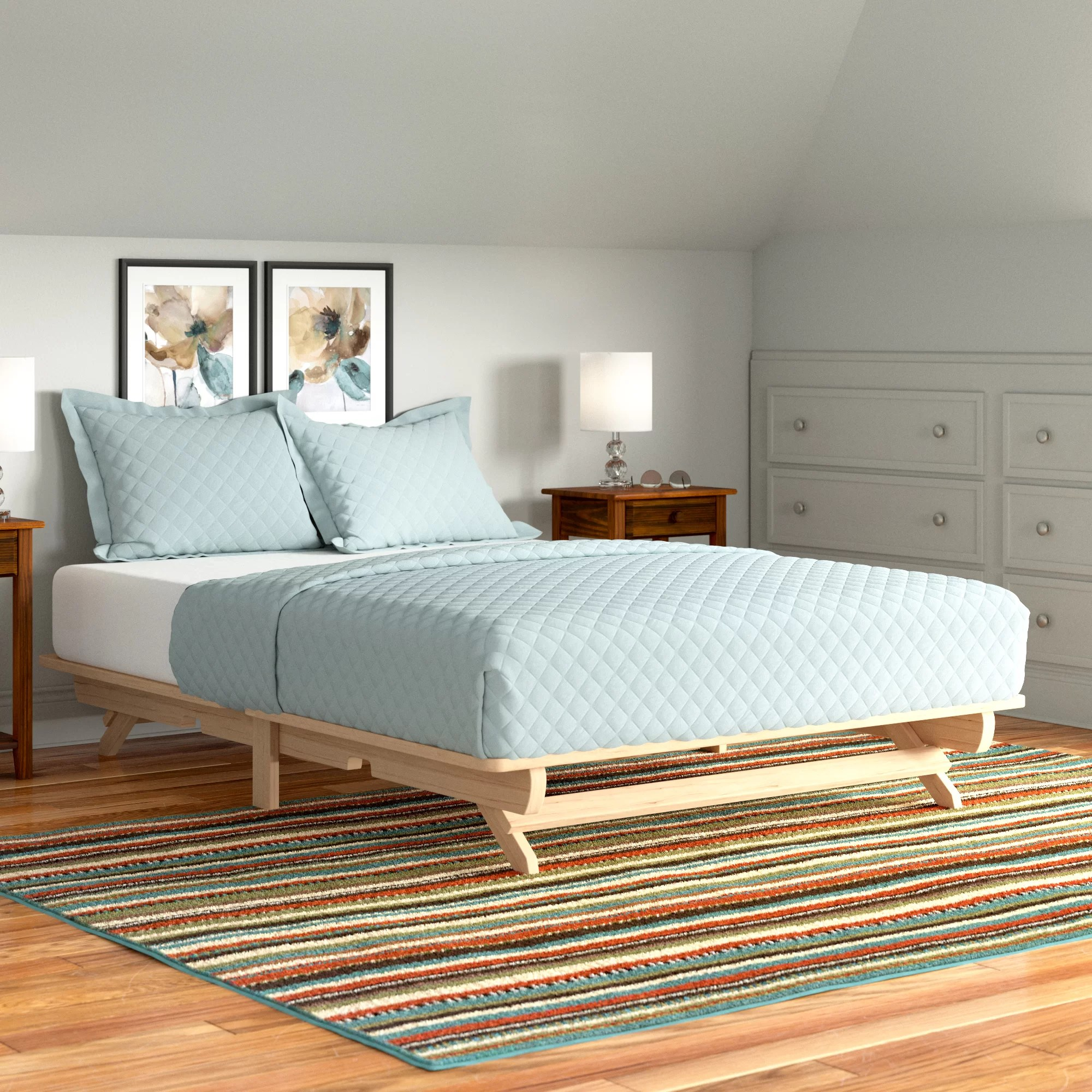 Andover Mills Evie Solid Wood Platform Bed Reviews