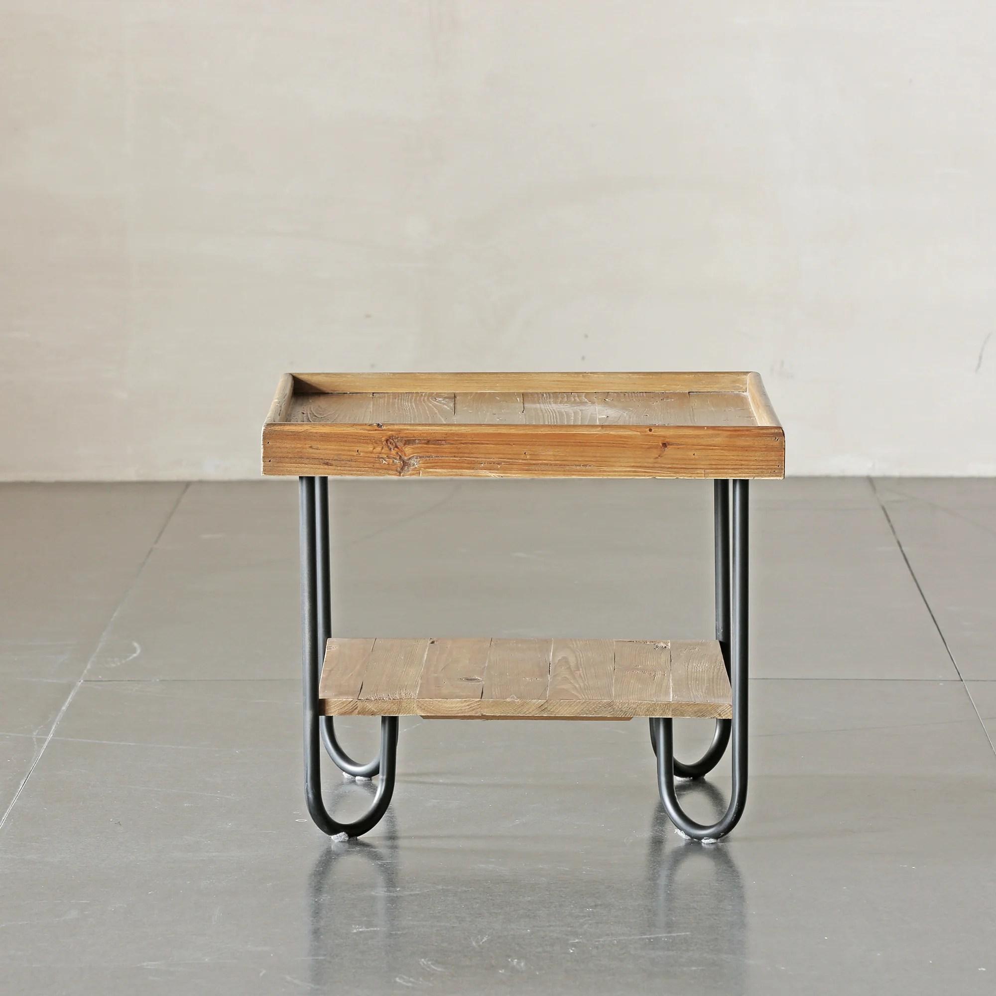 Union Rustic Molinaro Solid Wood End Table Wayfair