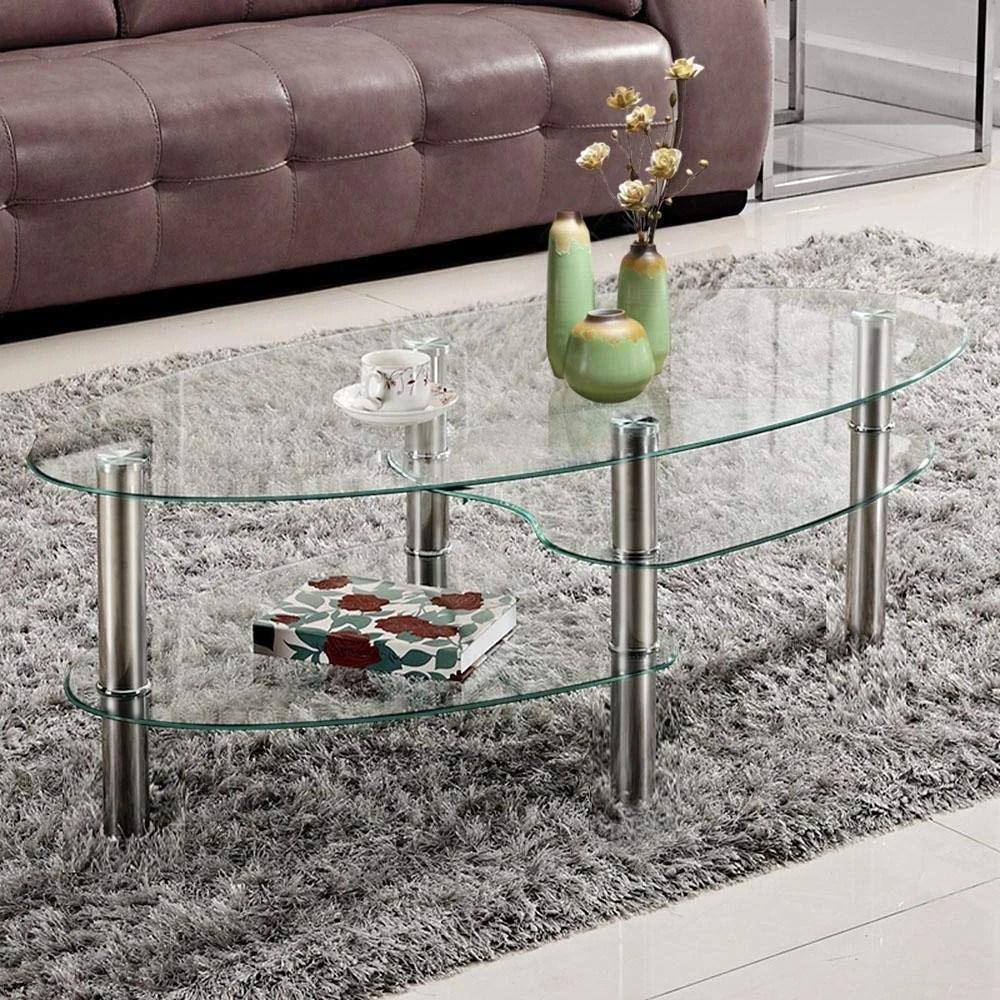 oval coffee tables on sale wayfair