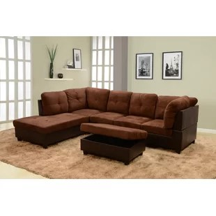 103 sectional with ottoman