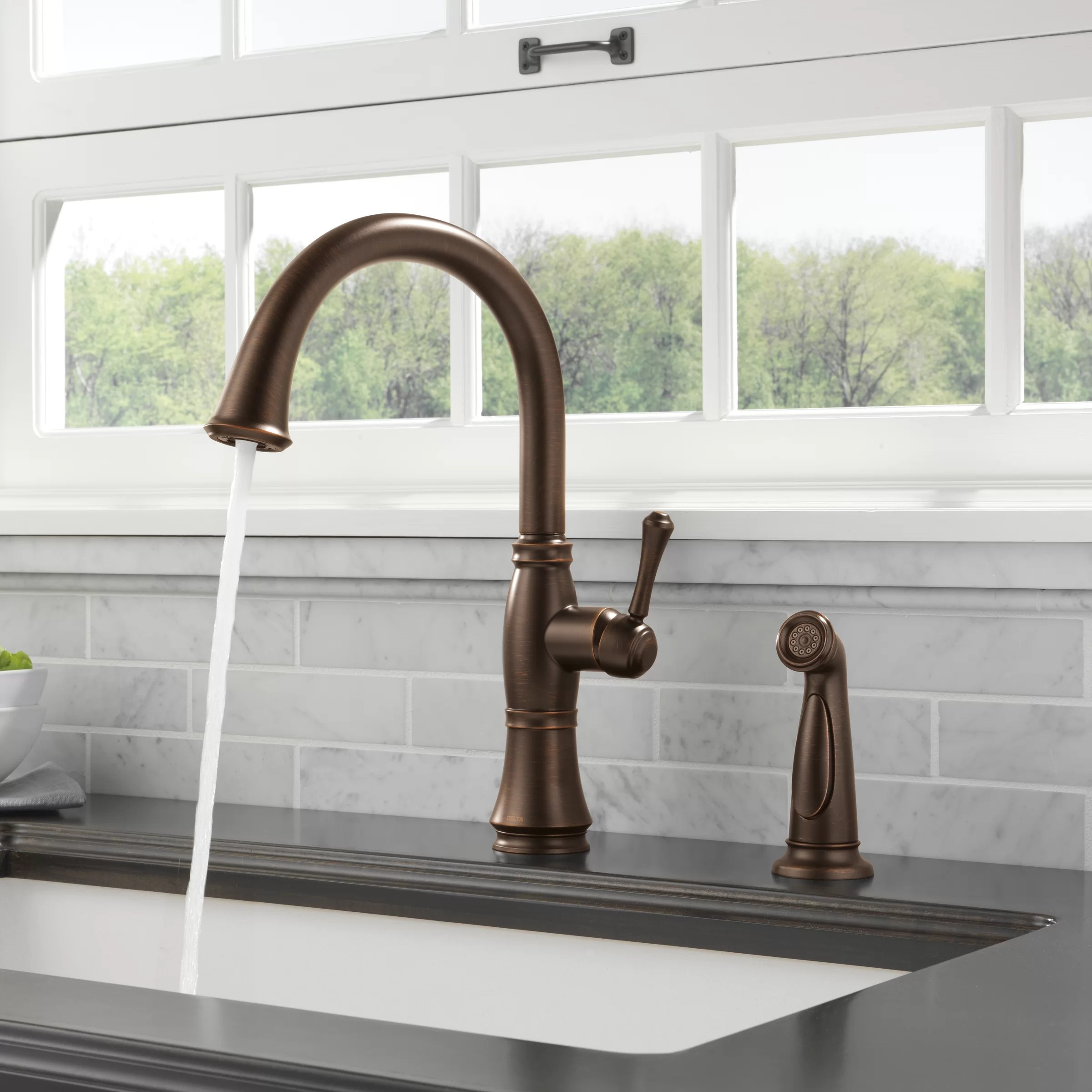 stainless steel kraus kpf 1650ss modern nola single lever commercial style kitchen faucet tools home improvement kitchen bathroom fixtures