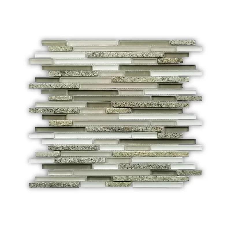 denver 12 x 12 natural stone mosaic tile