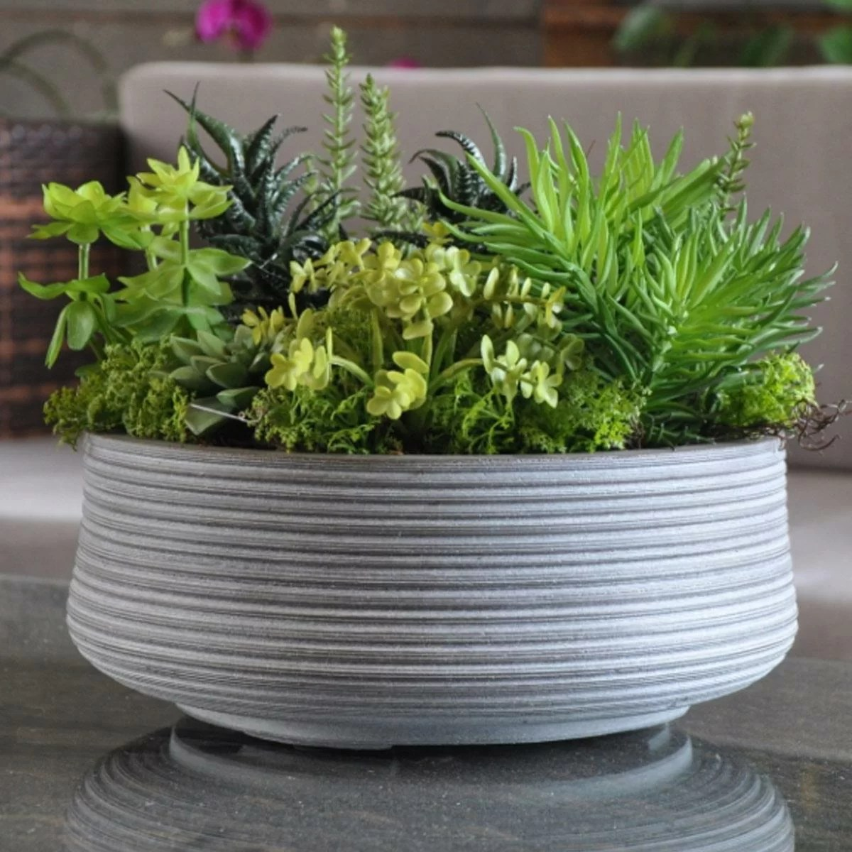 World Menagerie Bowls Fibreglass Plant Pot Reviews Wayfair Co Uk