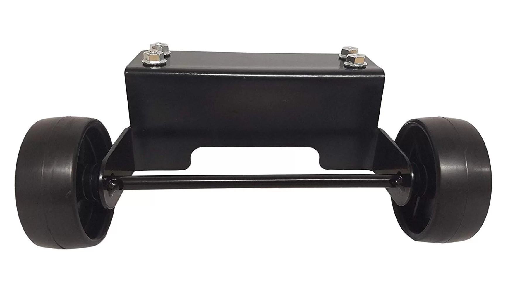 glass tube wheel kit patio heater parts