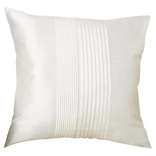 kadyn pleated square throw pillow