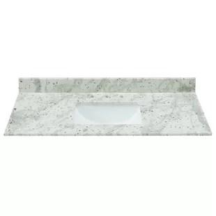 granite 43 single bathroom vanity top