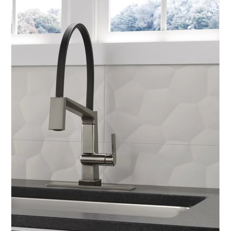 pivotal touch single handle kitchen faucet with touch20 technology