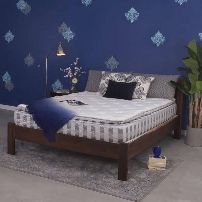 11 Plush Pillow Top Memory Foam Mattress