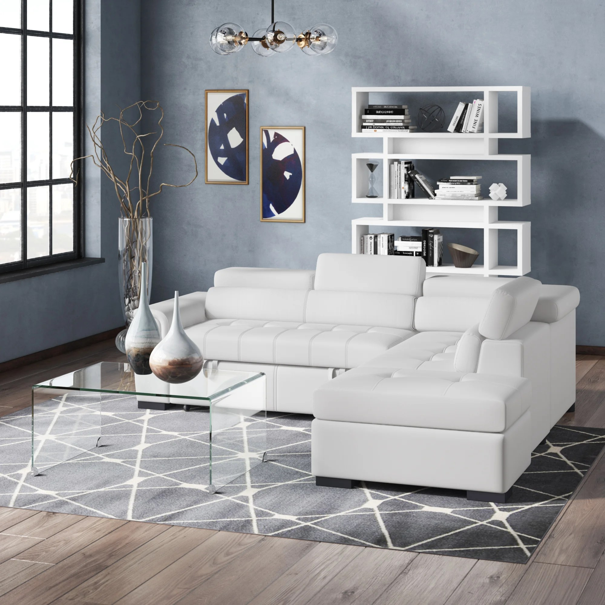 126 large sectional