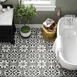 Geometric Floor Tiles Wayfair