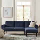 sectional sleeper couch wayfair
