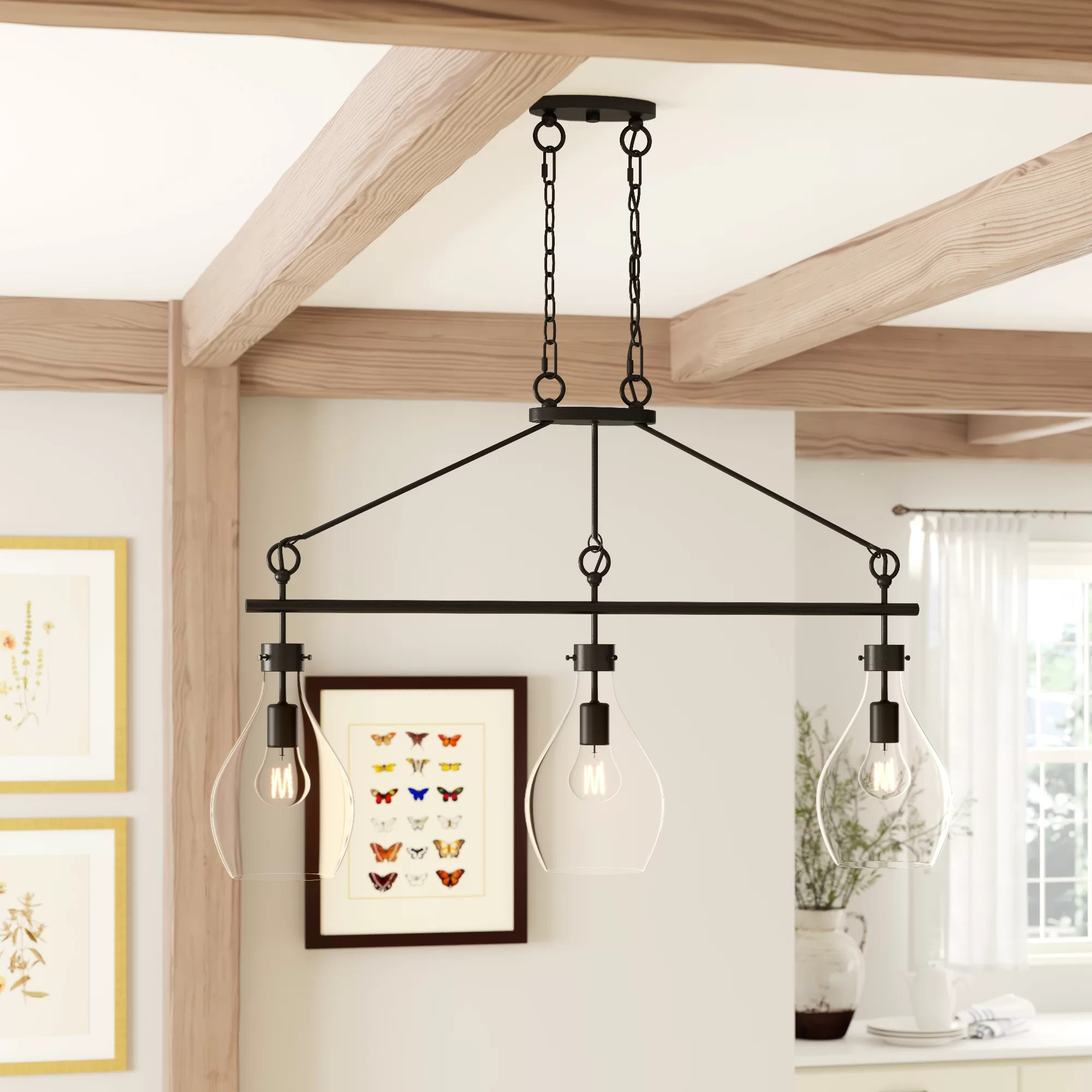 country kitchen island pendant lighting