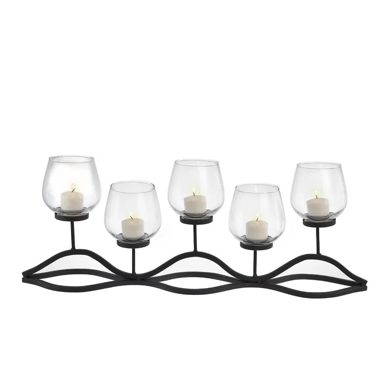 Wrought Iron Candle Holders Outdoor